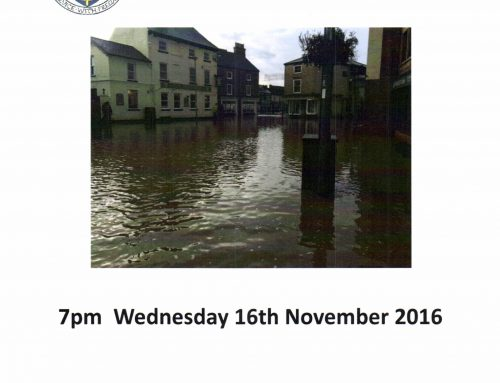 Flood Update Meeting 7pm Wednesday 16th November