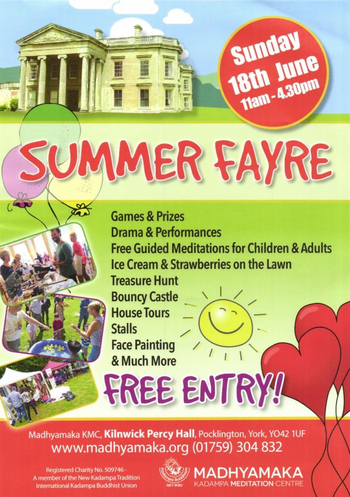 Madhyamaka summer fair
